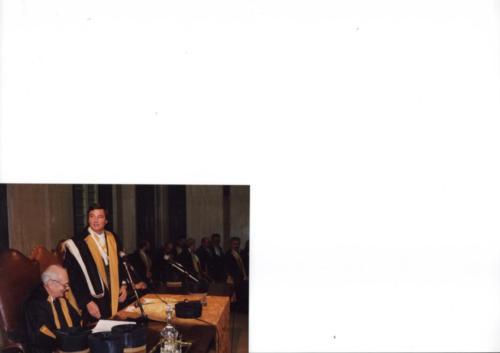 Laurea honoris causa a Fosco Maraini